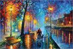 Melody of The Night by: Leonid Afremov Poster Image